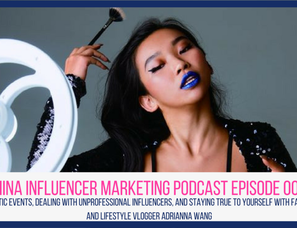 CIM Episode 008: Chaotic Events, Dealing with Unprofessional Influencers, and Staying True to Yourself with Fashion and Lifestyle Vlogger Adrianna Wang