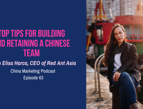 CMP063: Top Tips for Building and Retaining a Chinese Team with Elisa Harca, CEO of Red Ant Asia